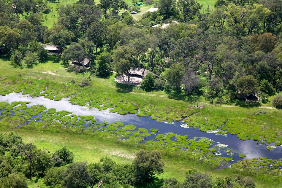 Machaba Aerial view