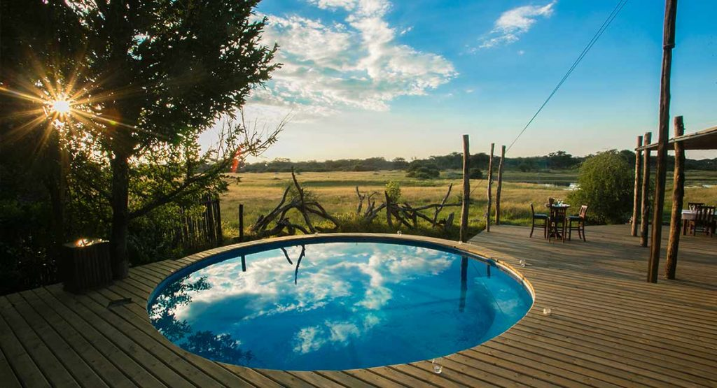 A-Frame Swimming Pool The Hide Hwange National Park